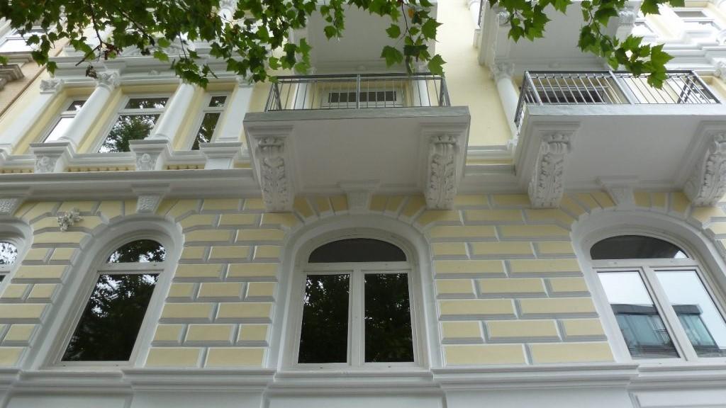 2018 11 06 Maler Wedel Hamburg Aussenarbeiten Fassade Balkone