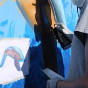 Maler Gehm in Wedel & Hamburg - Aussenarbeiten - Graffiti - Entwurf