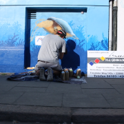 Maler Gehm in Wedel & Hamburg - Aussenarbeiten - Graffiti - Konzentration